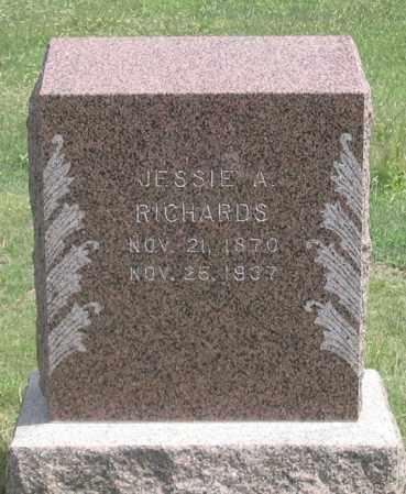 RICHARDS, JESSIE A. - Dundy County, Nebraska | JESSIE A. RICHARDS - Nebraska Gravestone Photos