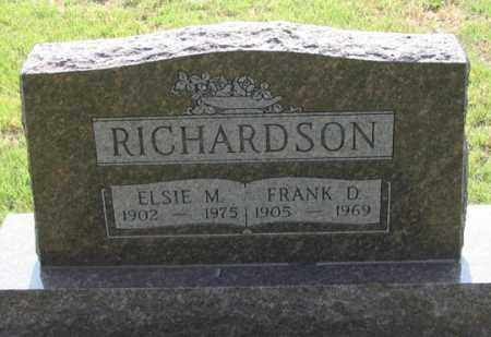 BRINKERHOFF RICHARDSON, ELSIE M. - Dundy County, Nebraska | ELSIE M. BRINKERHOFF RICHARDSON - Nebraska Gravestone Photos