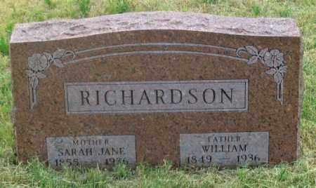 RICHARDSON, WILLIAM - Dundy County, Nebraska | WILLIAM RICHARDSON - Nebraska Gravestone Photos