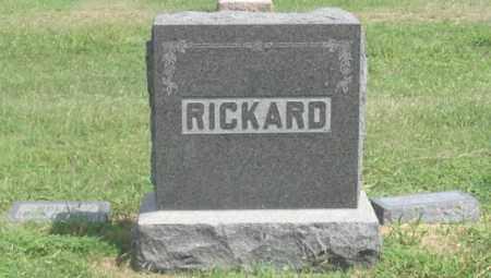 RICKARD, JONAS FAMILY GRAVE SITE - Dundy County, Nebraska | JONAS FAMILY GRAVE SITE RICKARD - Nebraska Gravestone Photos