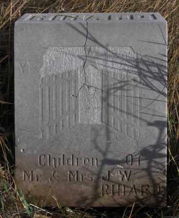 RIHARD, INFANT - Dundy County, Nebraska | INFANT RIHARD - Nebraska Gravestone Photos