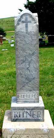 RITNER, HARRY N. - Dundy County, Nebraska | HARRY N. RITNER - Nebraska Gravestone Photos