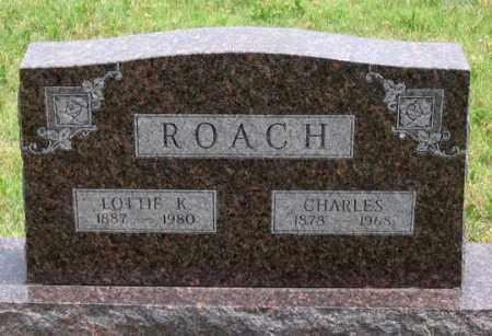 ROACH, CHARLES - Dundy County, Nebraska   CHARLES ROACH - Nebraska Gravestone Photos