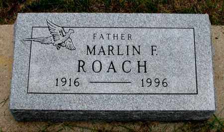 ROACH, MARLIN F. - Dundy County, Nebraska | MARLIN F. ROACH - Nebraska Gravestone Photos
