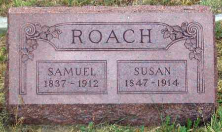 ROACH, SAMUEL - Dundy County, Nebraska   SAMUEL ROACH - Nebraska Gravestone Photos