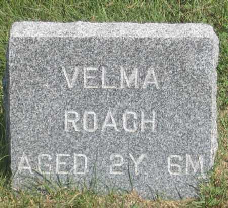 ROACH, VELMA VIOLA - Dundy County, Nebraska | VELMA VIOLA ROACH - Nebraska Gravestone Photos