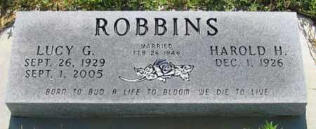 ROBBINS, HAROLD H. - Dundy County, Nebraska | HAROLD H. ROBBINS - Nebraska Gravestone Photos