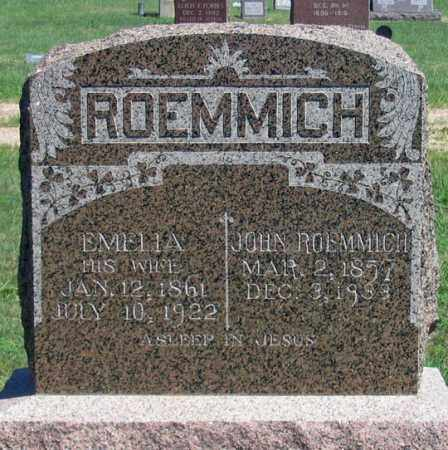 ROEMMICH, JOHN A., SR. - Dundy County, Nebraska | JOHN A., SR. ROEMMICH - Nebraska Gravestone Photos