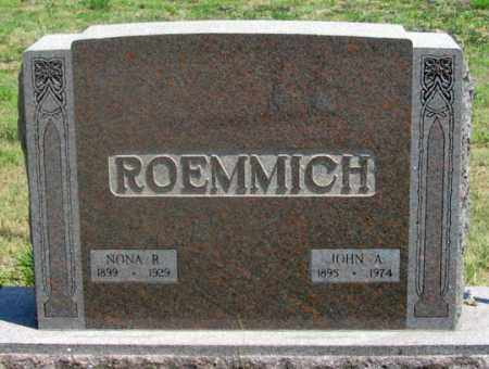 ROEMMICH, JOHN A., JR. - Dundy County, Nebraska | JOHN A., JR. ROEMMICH - Nebraska Gravestone Photos