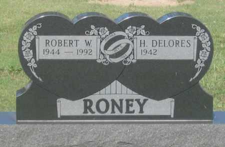 RONEY, ROBERT W. - Dundy County, Nebraska | ROBERT W. RONEY - Nebraska Gravestone Photos