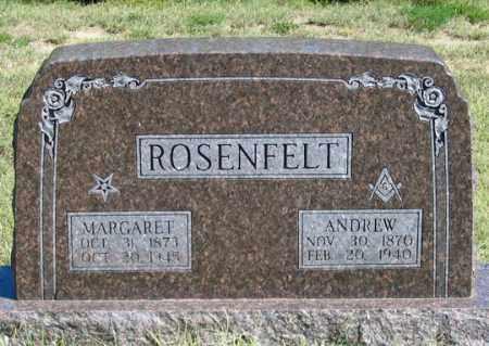 HUNTWORK ROSENFELT, MARGARET - Dundy County, Nebraska | MARGARET HUNTWORK ROSENFELT - Nebraska Gravestone Photos