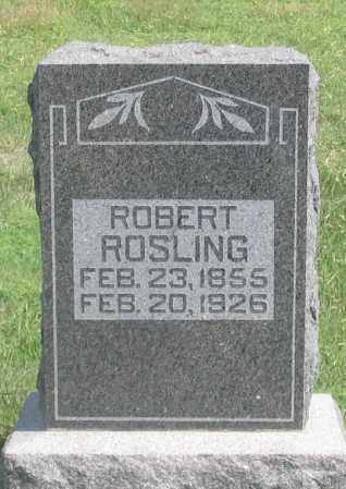 ROSLING, ROBERT - Dundy County, Nebraska | ROBERT ROSLING - Nebraska Gravestone Photos