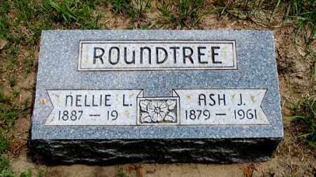 ROUNDTREE, NELLIE L. - Dundy County, Nebraska   NELLIE L. ROUNDTREE - Nebraska Gravestone Photos