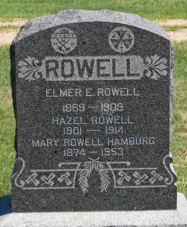 ROWELL, MARY - Dundy County, Nebraska | MARY ROWELL - Nebraska Gravestone Photos