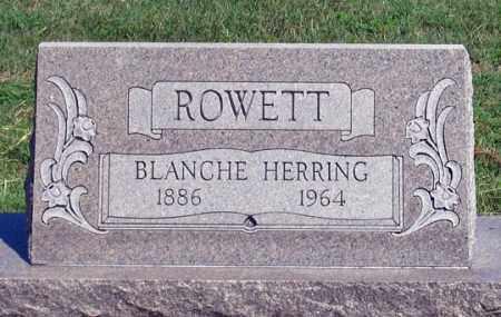 ROWETT, BLANCHE - Dundy County, Nebraska | BLANCHE ROWETT - Nebraska Gravestone Photos