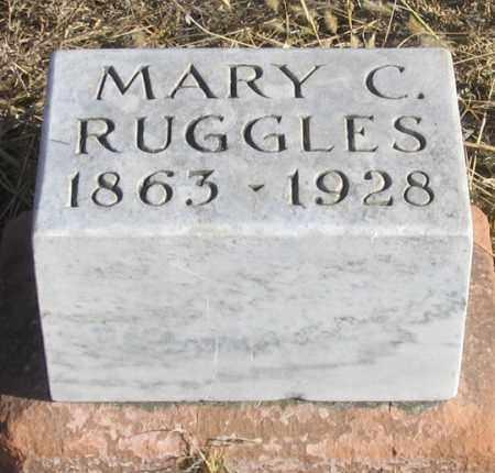 RUGGLES, MARY C. - Dundy County, Nebraska | MARY C. RUGGLES - Nebraska Gravestone Photos