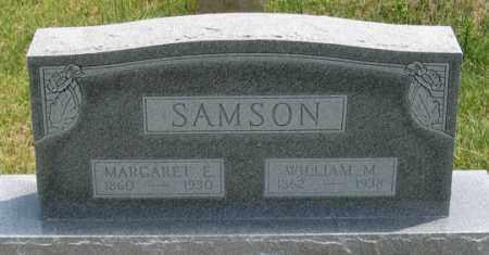 SAMSON, MARGARET ELIZABETH - Dundy County, Nebraska | MARGARET ELIZABETH SAMSON - Nebraska Gravestone Photos