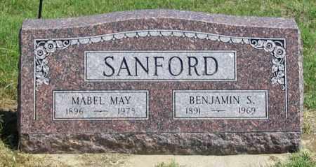 SANFORD, BENJAMIN S. - Dundy County, Nebraska | BENJAMIN S. SANFORD - Nebraska Gravestone Photos