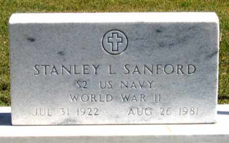SANFORD, STANLEY - Dundy County, Nebraska | STANLEY SANFORD - Nebraska Gravestone Photos