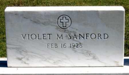 SANFORD, VIOLET MAE - Dundy County, Nebraska | VIOLET MAE SANFORD - Nebraska Gravestone Photos