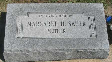 SAUER, MARGARET H. (MARGUERITTE?) - Dundy County, Nebraska | MARGARET H. (MARGUERITTE?) SAUER - Nebraska Gravestone Photos