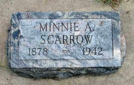 SCARROW, MINNIE A. - Dundy County, Nebraska   MINNIE A. SCARROW - Nebraska Gravestone Photos