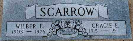 SCARROW, WILBER EMERSON - Dundy County, Nebraska   WILBER EMERSON SCARROW - Nebraska Gravestone Photos
