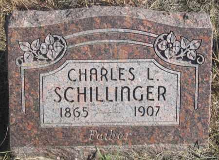 SCHILLINGER, CHARLES L. - Dundy County, Nebraska | CHARLES L. SCHILLINGER - Nebraska Gravestone Photos