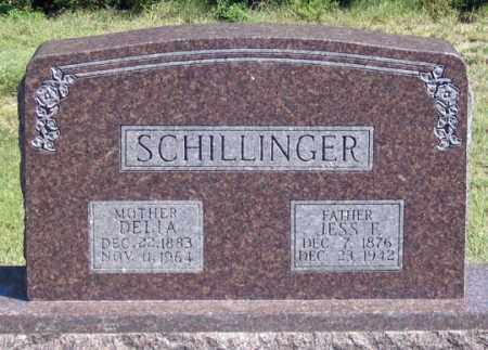 SCHILLINGER, JESS E. - Dundy County, Nebraska | JESS E. SCHILLINGER - Nebraska Gravestone Photos