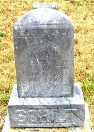 SCHILT, ANNA M. - Dundy County, Nebraska | ANNA M. SCHILT - Nebraska Gravestone Photos
