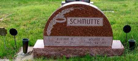 SCHMUTTE, ELOSHIA H. - Dundy County, Nebraska | ELOSHIA H. SCHMUTTE - Nebraska Gravestone Photos