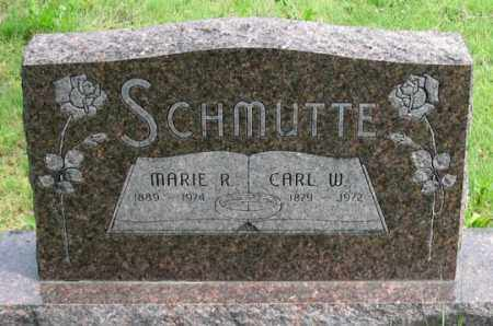 SCHMUTTE, MARIE R. - Dundy County, Nebraska   MARIE R. SCHMUTTE - Nebraska Gravestone Photos