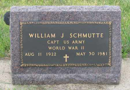 SCHMUTTE, WILLIAM J. - Dundy County, Nebraska | WILLIAM J. SCHMUTTE - Nebraska Gravestone Photos