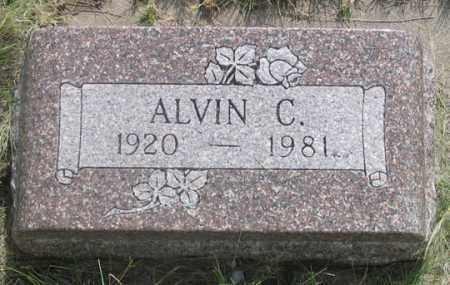 SCHRADER, ALVIN C. - Dundy County, Nebraska | ALVIN C. SCHRADER - Nebraska Gravestone Photos