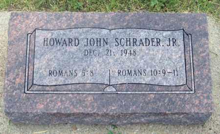 """SCHRADER, HOWARD JOHN JR. """"JOHNNIE"""" - Dundy County, Nebraska   HOWARD JOHN JR. """"JOHNNIE"""" SCHRADER - Nebraska Gravestone Photos"""