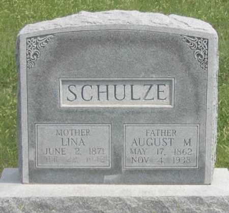ALEITHA SCHULZE, LINA - Dundy County, Nebraska | LINA ALEITHA SCHULZE - Nebraska Gravestone Photos