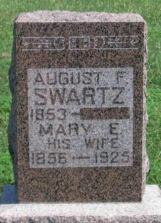 SCHWARTZ, MARY E. - Dundy County, Nebraska | MARY E. SCHWARTZ - Nebraska Gravestone Photos