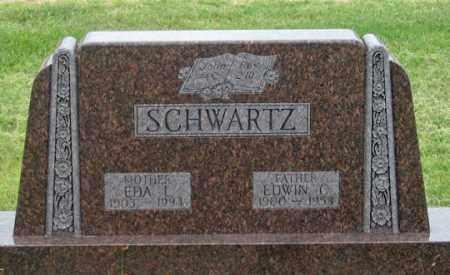 SCHWARTZ, EDWIN C. - Dundy County, Nebraska | EDWIN C. SCHWARTZ - Nebraska Gravestone Photos