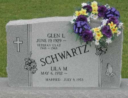SCHWARTZ, GLEN L. - Dundy County, Nebraska   GLEN L. SCHWARTZ - Nebraska Gravestone Photos