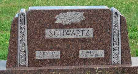 GERDES SCHWARTZ, GRATHA - Dundy County, Nebraska   GRATHA GERDES SCHWARTZ - Nebraska Gravestone Photos
