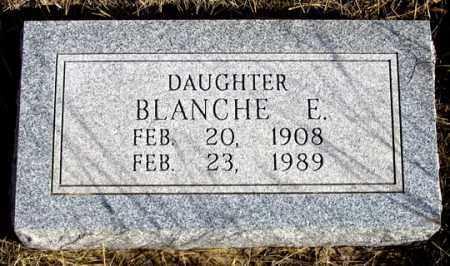 SCHWENK, BLANCHE E. - Dundy County, Nebraska   BLANCHE E. SCHWENK - Nebraska Gravestone Photos