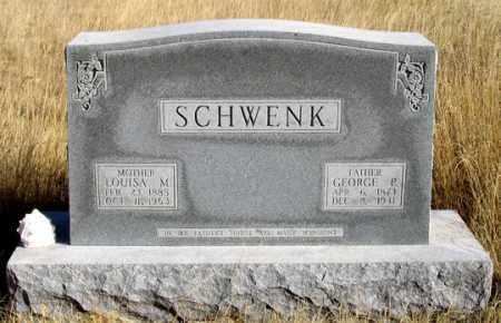 DONZE SCHWENK, LOUISA M. - Dundy County, Nebraska   LOUISA M. DONZE SCHWENK - Nebraska Gravestone Photos
