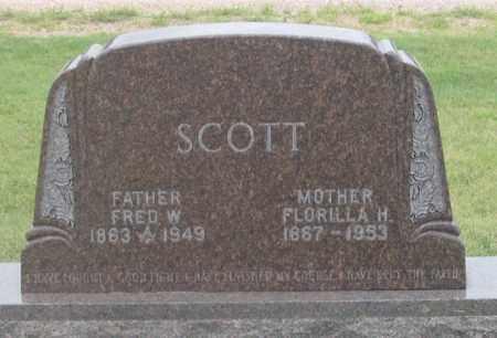 SCOTT, FLORILLA H. - Dundy County, Nebraska | FLORILLA H. SCOTT - Nebraska Gravestone Photos