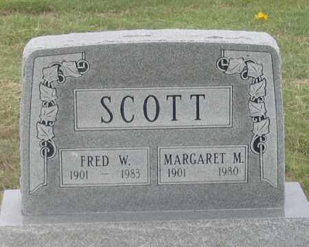 SCOTT, MARGARET M. - Dundy County, Nebraska | MARGARET M. SCOTT - Nebraska Gravestone Photos