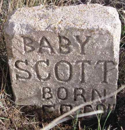 SCOTT, INFANT(S) - Dundy County, Nebraska   INFANT(S) SCOTT - Nebraska Gravestone Photos