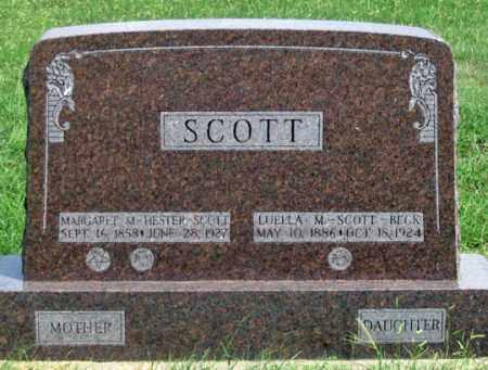 HESTER SCOTT, MARGARET - Dundy County, Nebraska   MARGARET HESTER SCOTT - Nebraska Gravestone Photos