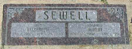 SEWELL, MARY ELIZABETH - Dundy County, Nebraska | MARY ELIZABETH SEWELL - Nebraska Gravestone Photos