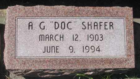 "SHAFER, ALBERT G. ""DOC"" - Dundy County, Nebraska 