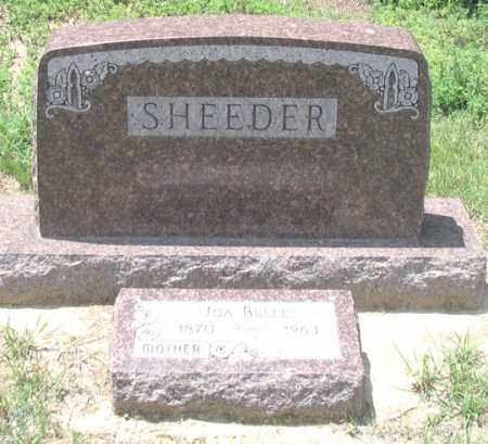 SHEEDER FAMILY, HEADSTONE - Dundy County, Nebraska | HEADSTONE SHEEDER FAMILY - Nebraska Gravestone Photos