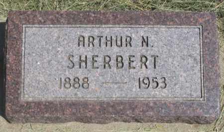 SHERBERT, ARTHUR N. - Dundy County, Nebraska | ARTHUR N. SHERBERT - Nebraska Gravestone Photos